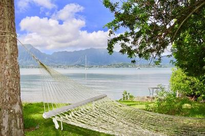 Kaneohe Single Family Home For Sale: 44-421 Kaneohe Bay Drive