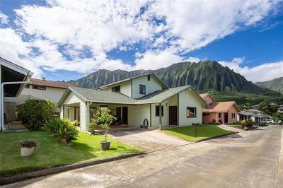 Kaneohe Single Family Home For Sale: 45-528 Malio Place