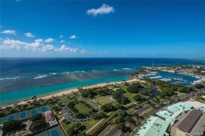 Honolulu Condo/Townhouse For Sale: 1288 Ala Moana Boulevard #PH 39I