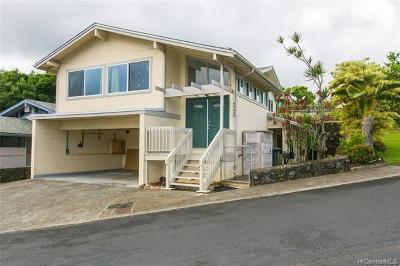 Kaneohe Single Family Home For Sale: 45-450 Opuhea Place