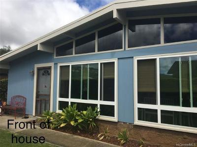 Honolulu County Single Family Home For Sale: 589 Kukuiula Place