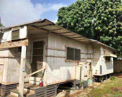 Honolulu Single Family Home For Sale: 1336 Kamehameha Iv Road #B
