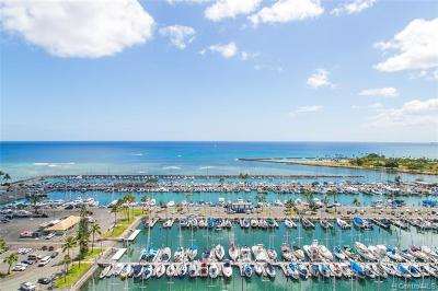 Hawaii County, Honolulu County Condo/Townhouse For Sale: 1777 Ala Moana Boulevard #402