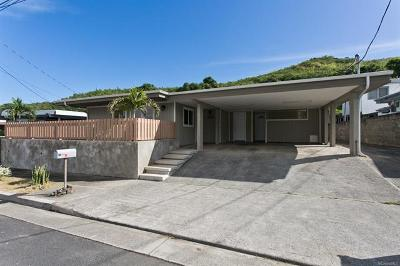 Kailua HI Single Family Home For Sale: $949,000
