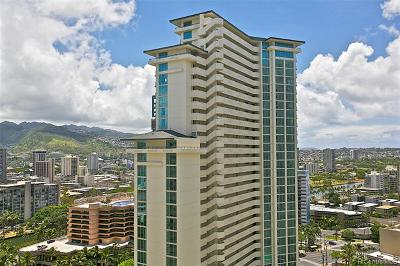 Honolulu County Condo/Townhouse For Sale: 1837 Kalakaua Avenue #2510