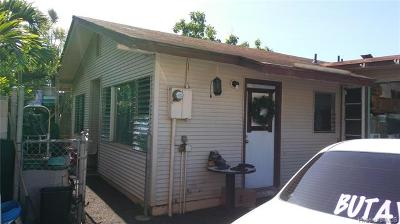Waianae HI Single Family Home For Sale: $279,000