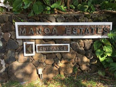 Single Family Home For Sale: 3577 Pinao Street #8
