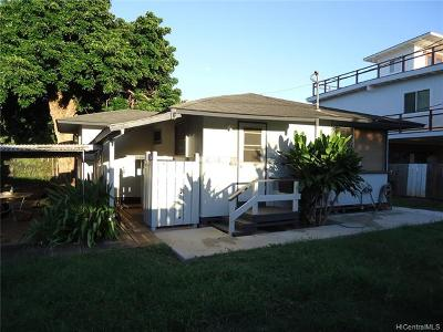 Haleiwa Single Family Home For Sale: 66-130 Nalimu Road