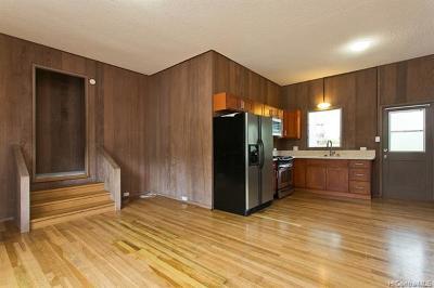 Honolulu Single Family Home For Sale: 1583 Kalaepaa Drive