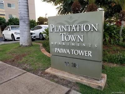 Waipahu Condo/Townhouse For Sale: 94-302 Paiwa Street #807