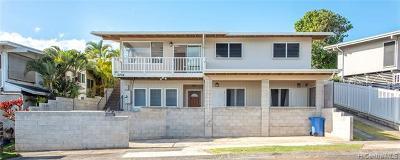 Single Family Home For Sale: 2256 Aumakua Street