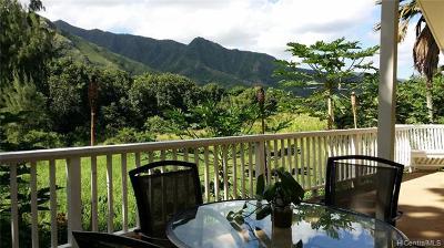 Hauula Single Family Home For Sale: 53-598 Kamehameha Highway