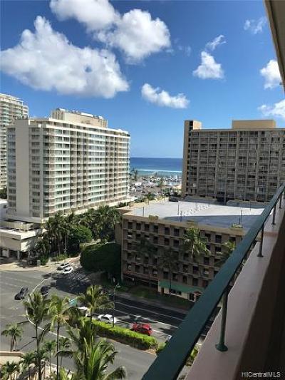Honolulu Condo/Townhouse For Sale: 1720 Ala Moana Boulevard #1502A