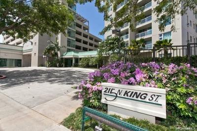 Honolulu Condo/Townhouse For Sale: 215 N King Street #1711
