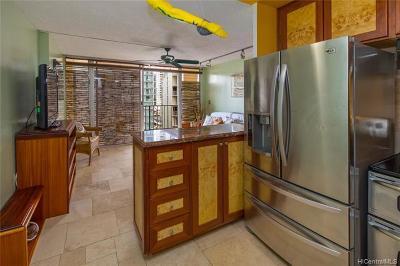 Honolulu Condo/Townhouse For Sale: 2345 Ala Wai Boulevard #1001