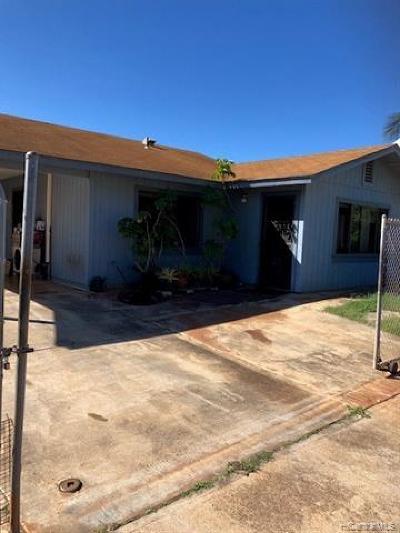 Waianae Single Family Home For Sale: 86-301 Hokupaa Street