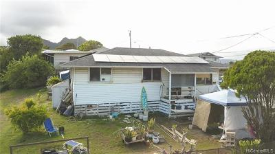Kailua Single Family Home In Escrow Showing: 1055 Mowai Street