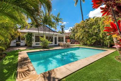Honolulu Single Family Home For Sale: 4586 Aukai Avenue