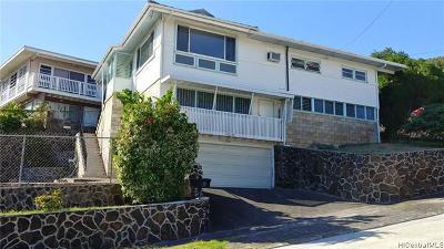 Single Family Home For Sale: 1566 Haku Street