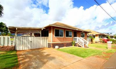 Ewa Beach Single Family Home For Sale: 91-1138 Sisal Street