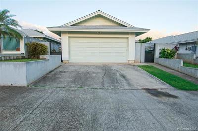 Waipahu Single Family Home For Sale: 94-1028 Lelehu Street