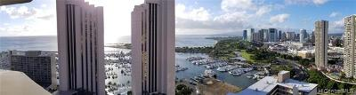 Hawaii County, Honolulu County Condo/Townhouse For Sale: 1700 Ala Moana Boulevard #3102