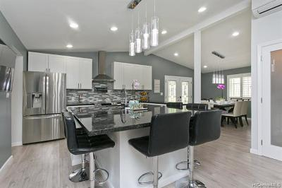 Honolulu County Single Family Home For Sale: 607 Ainapo Street