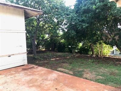 Pearl City Single Family Home For Sale: 823 Hookala Street