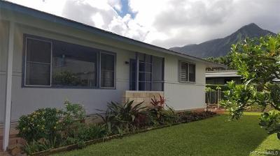 Kaneohe Rental For Rent: 00-000 Keaahala Street