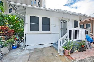 Honolulu Single Family Home For Sale: 1059 Kinau Street #C