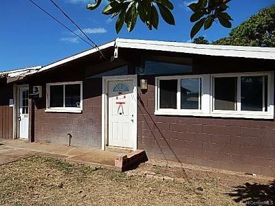 Waianae Single Family Home For Sale: 87-234 Maaloa Street
