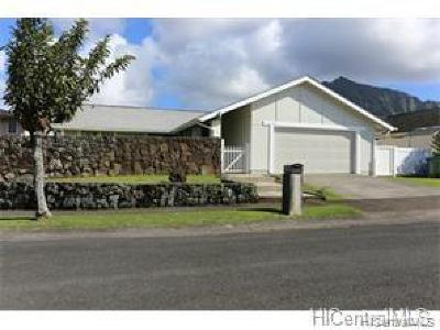 Kaneohe Rental For Rent: 46-270 Kalaua Place
