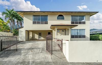 Kaneohe Single Family Home For Sale: 46-138 Humu Street