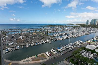 Honolulu County Condo/Townhouse For Sale: 1777 Ala Moana Boulevard #1335