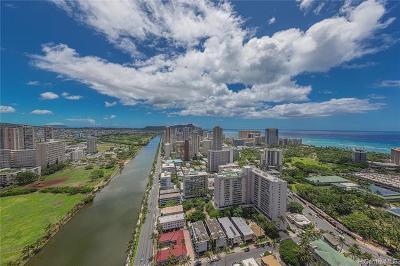 Honolulu County Condo/Townhouse For Sale: 444 Niu Street #PH302