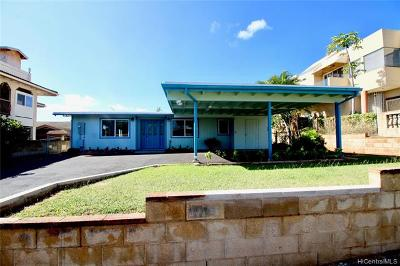 Single Family Home For Sale: 94-378 Kipou Street