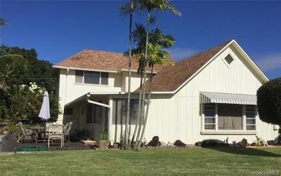 Single Family Home For Sale: 99-1252 Aiea Heights Drive