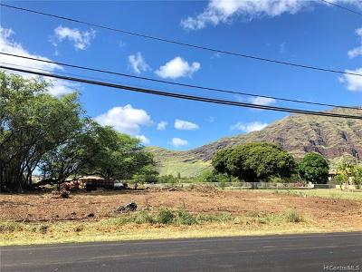 Honolulu County Residential Lots & Land For Sale: Makaha Valley Road
