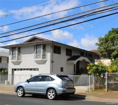 Honolulu Single Family Home For Sale: 734 Mokauea Street