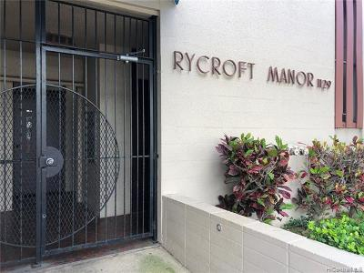 Hawaii County, Honolulu County Rental For Rent: 1129 Rycroft Street #307