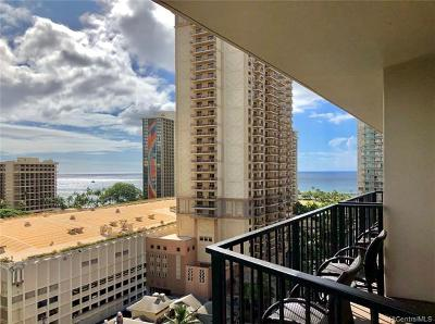 Hawaii County, Honolulu County Condo/Townhouse For Sale: 1850 Ala Moana Boulevard #1120