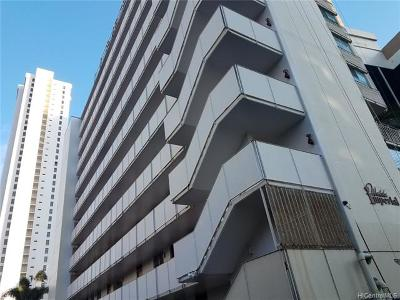 Hawaii County, Honolulu County Rental For Rent: 225 Liliuokalani Avenue #2A