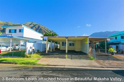 Honolulu County Single Family Home For Sale: 84-612 Kepue Street