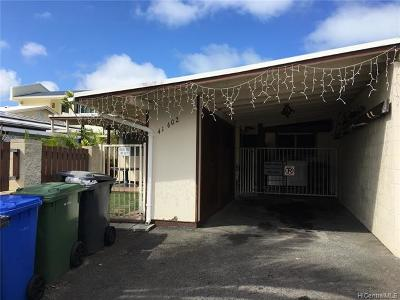 Waimanalo Single Family Home For Sale: 41-602 Inoaole Street