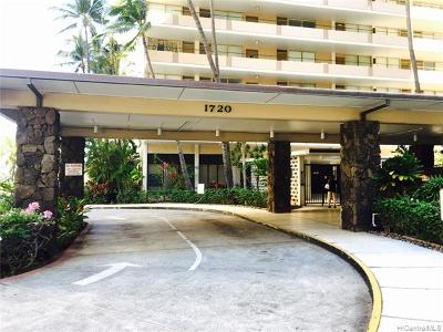 Hawaii County, Honolulu County Rental For Rent: 1720 Ala Moana Boulevard #A/803