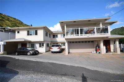 Honolulu Single Family Home For Sale: 1720c Palolo Avenue