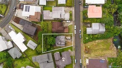 Honolulu Single Family Home For Sale: 3555 Pinao Street