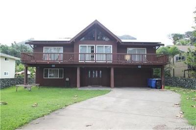 Laie Single Family Home For Sale: 55-056 Kamehameha Highway