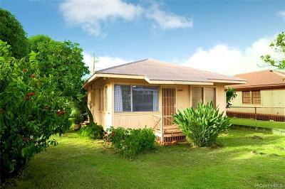 Single Family Home For Sale: 99-056 Laulima Street