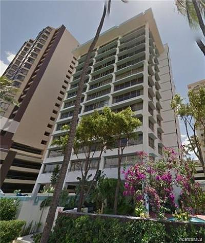 Condo/Townhouse For Sale: 2465 Ala Wai Boulevard #802